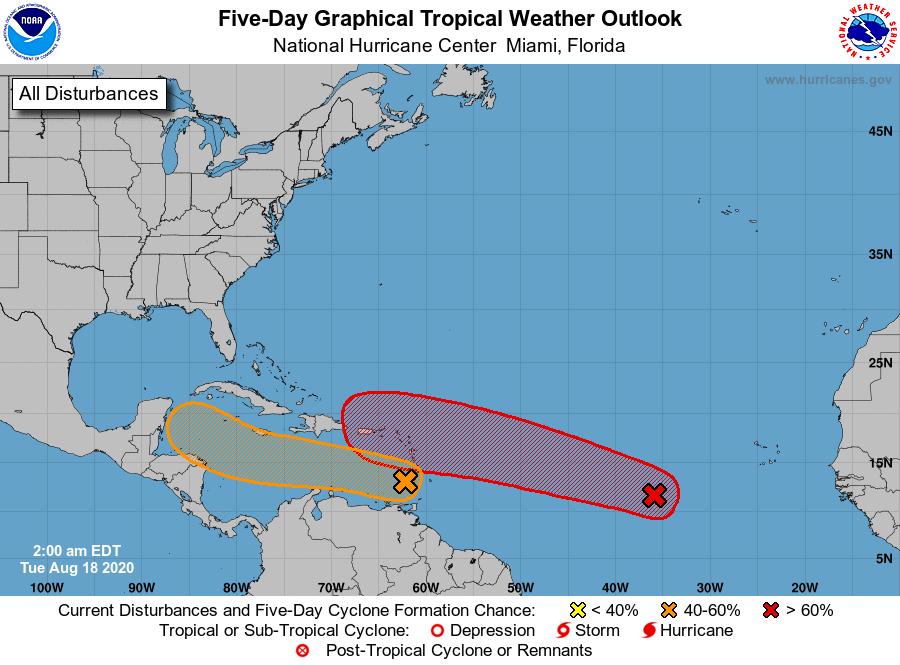 hurricane center florida august 18 2020