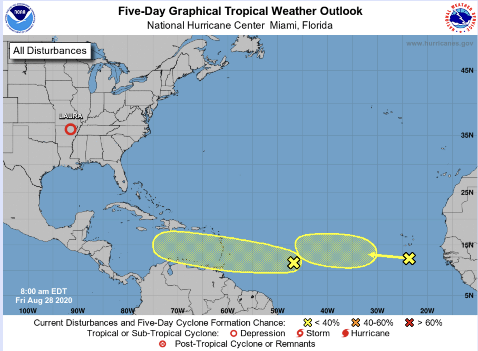 Hurricane Center Florida Remains In Extended Track Of Tropical Wave Bocanewsnow Com