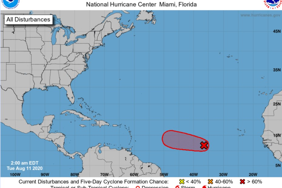 national hurricane center august 11