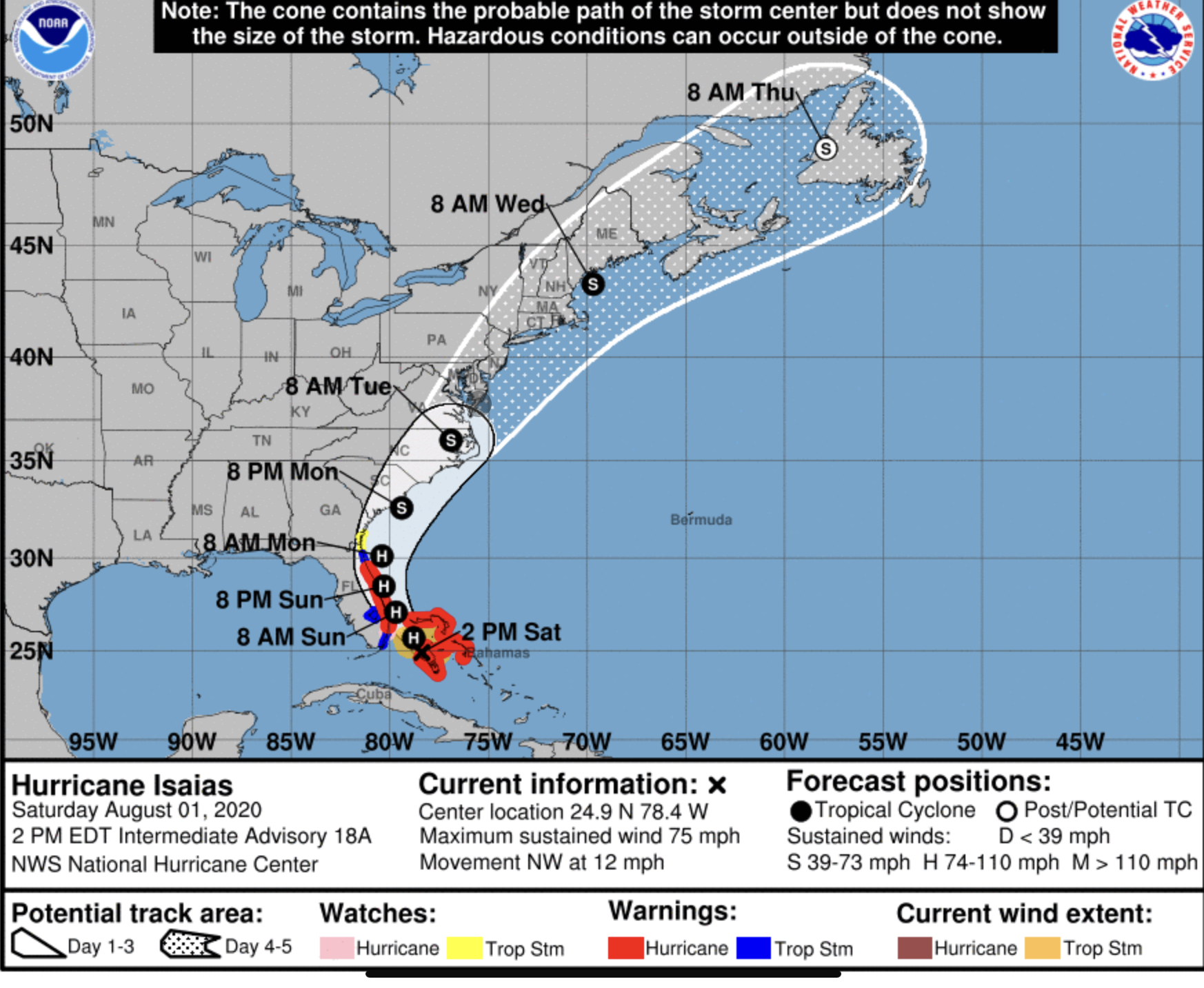 hurricane isaias palm beach county