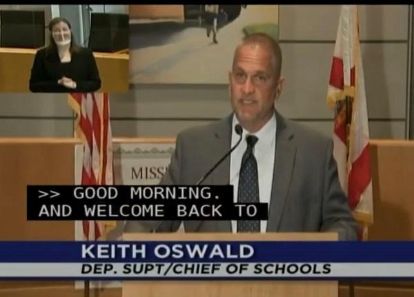 Keith oswald