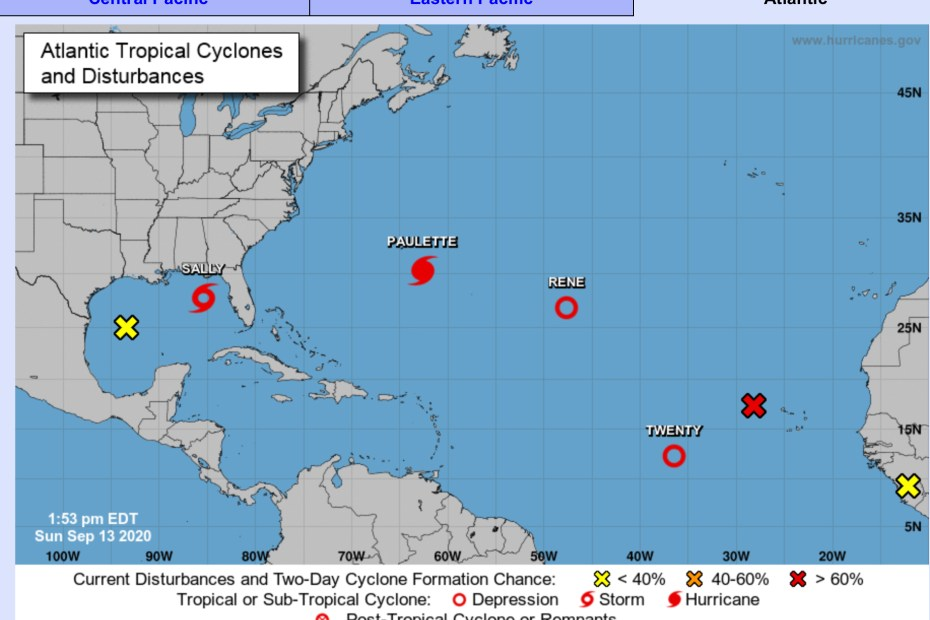 hurricane center sunday