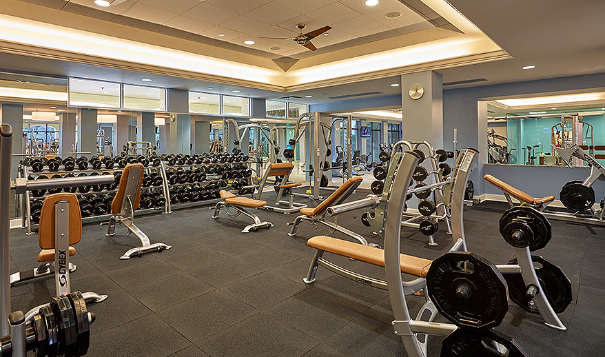 woodfield country club gym