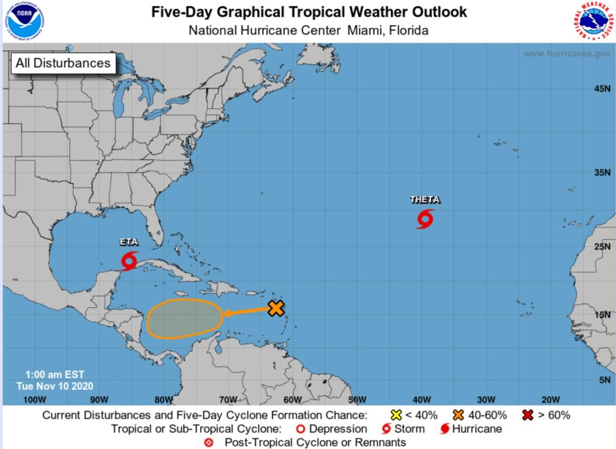 hurricane center tuesday nov 10