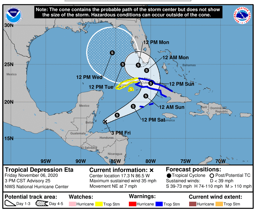 national hurricane center hurricane eta