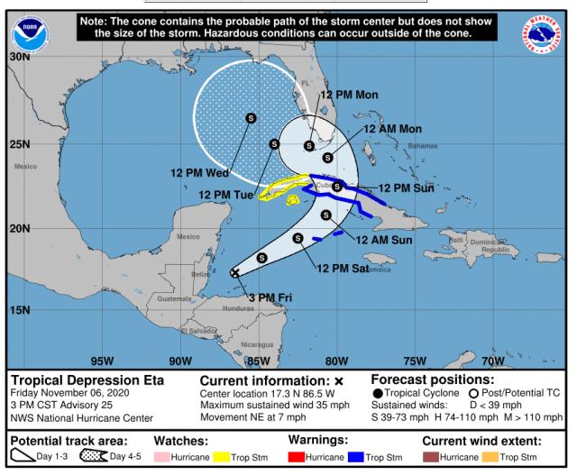 national hurricane center hurricane eta