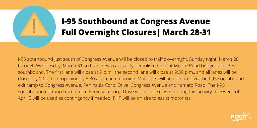 I-95 closure