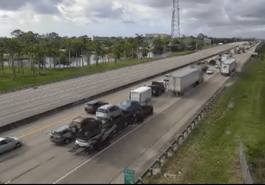 Turnpike Crash Boca Raton