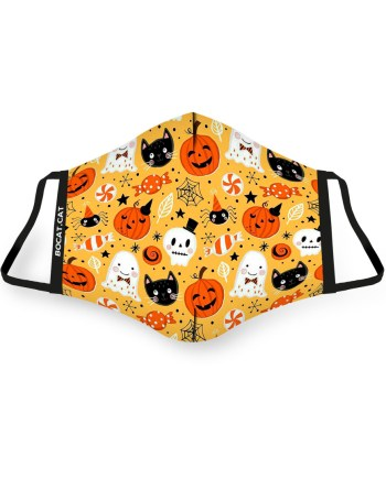 mascareta infantil halloween