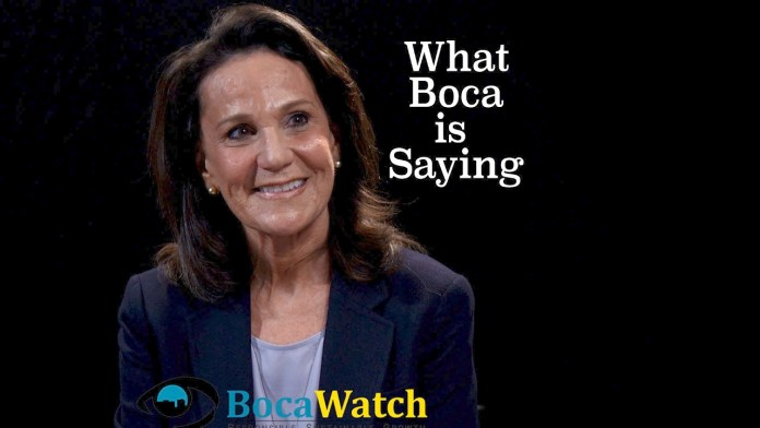 What Boca is Saying: Candidate Andrea Levine O'Rourke