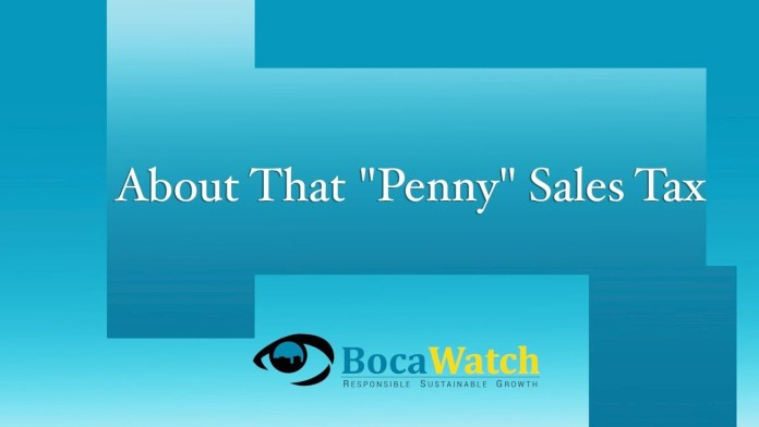 """About That """"Penny"""" Sales Tax"""