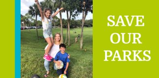 Save Our Parks - Michelle Grau
