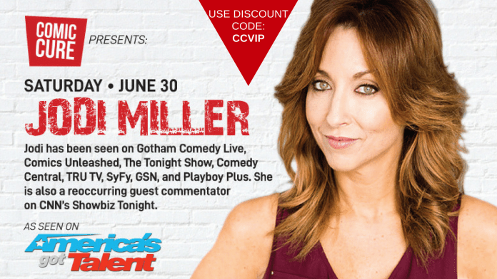 Saving Our Beaches, One Laugh At A Time – Comedy At Mizner on June 30th