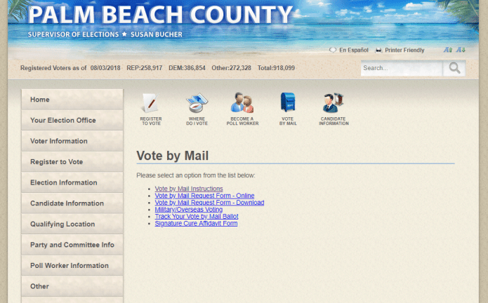 All Voters Can Vote By Mail Using Absentee Ballots