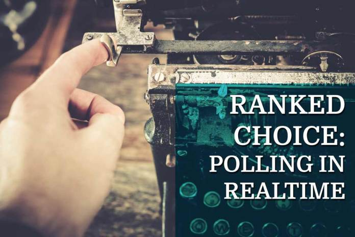 Keeping Polling Real-Time with Ranked Choice Voting