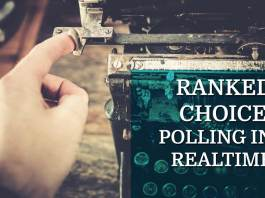 ranked choice voting - ranked choice polling