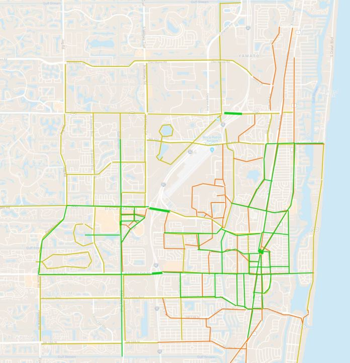 What needs improvement now to make Boca better for biking