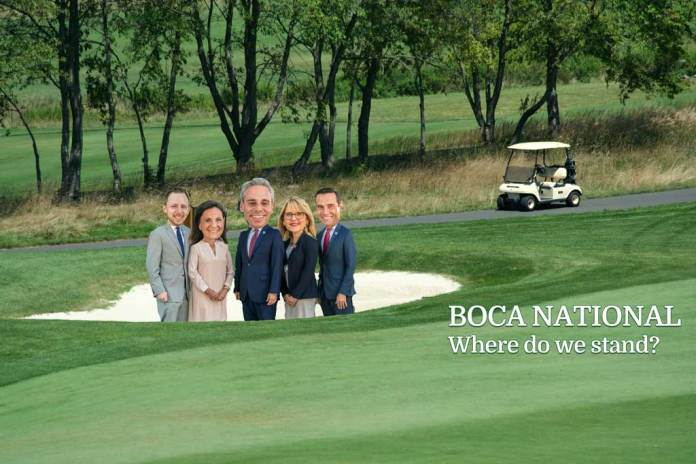 Where Do We Stand on Boca National Now?