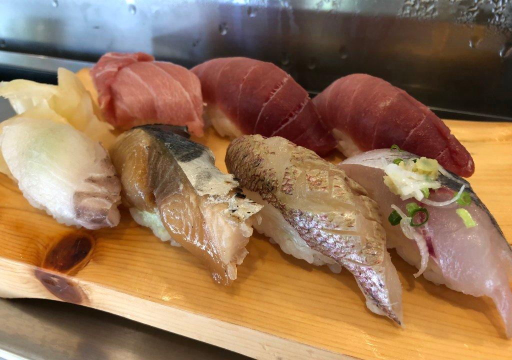 船橋立ち食い寿司吉兆寿司おまかせ