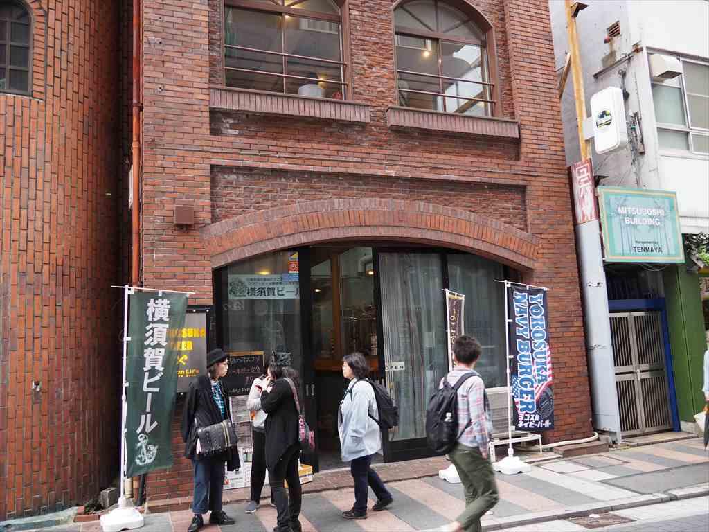 どぶ板通り 横須賀ビール