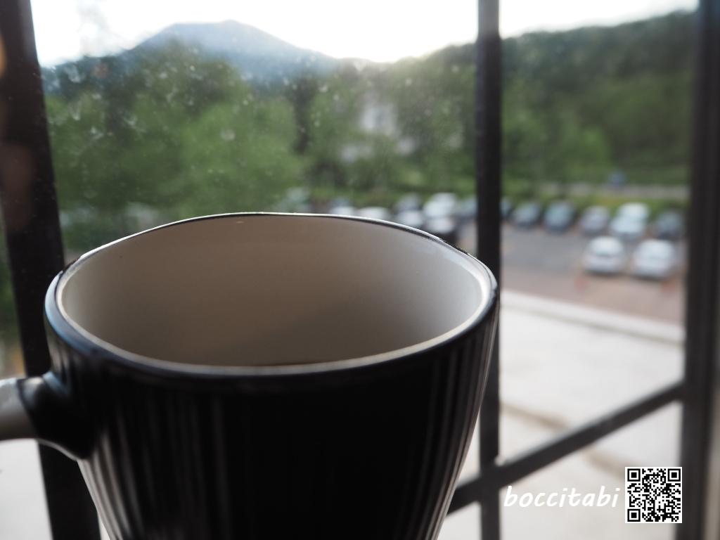 ラビスタ大雪山 朝のコーヒー