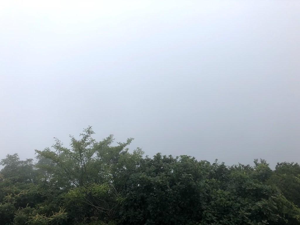 筑波山ロープウェイ女体山山頂からの眺め