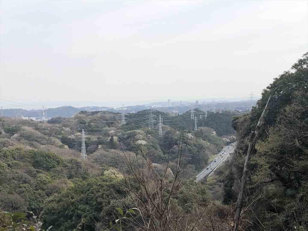 神武寺鷹取山ハイキングコース 横浜横須賀道路