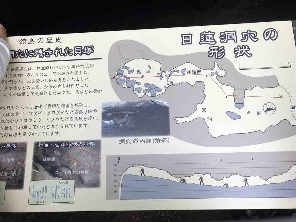 日蓮洞穴形状