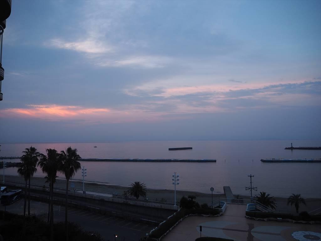熱海シーサイドスパ&リゾートの朝