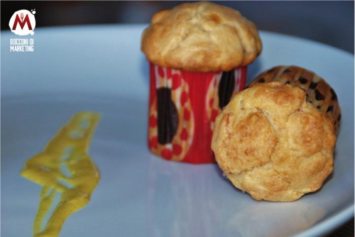 Muffin salmone e feta