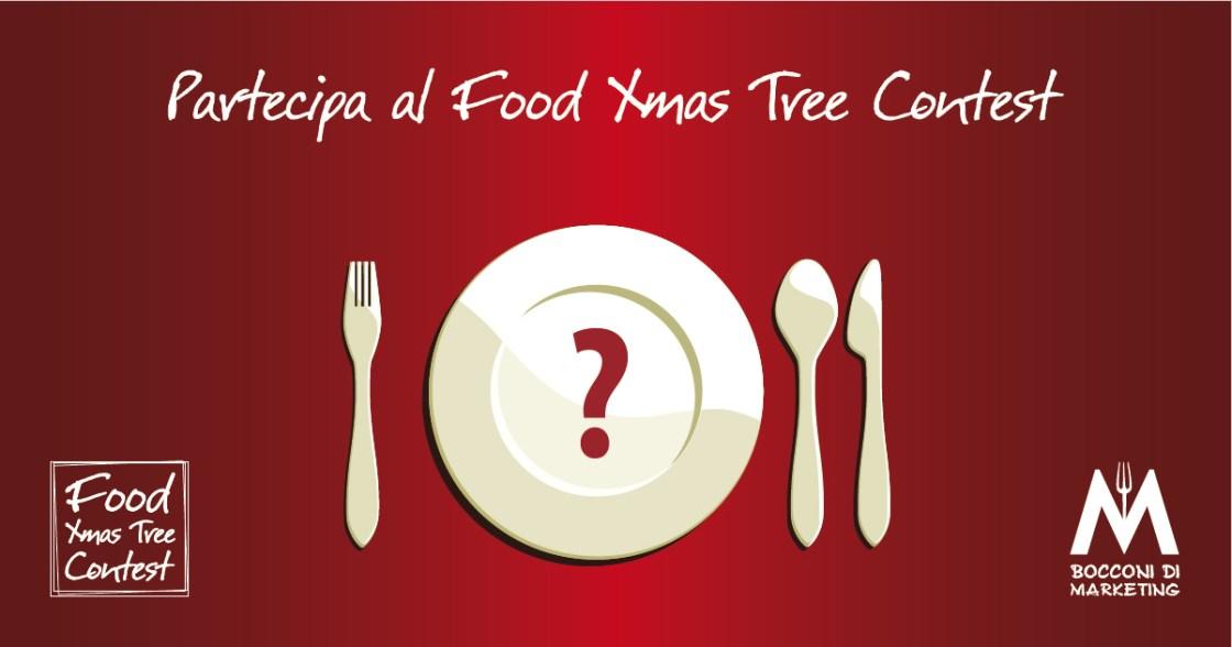 Partecipa al Food Xmas Tree Contest