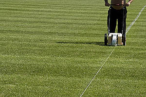 Lining the pitches can help