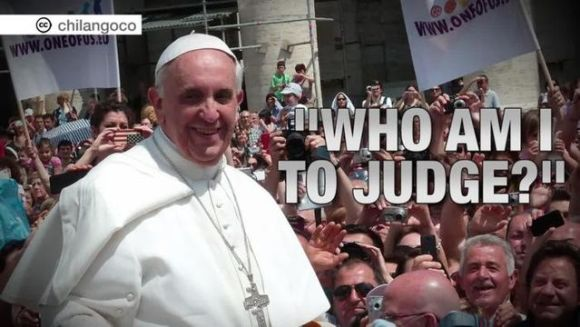 pope who am i to judge