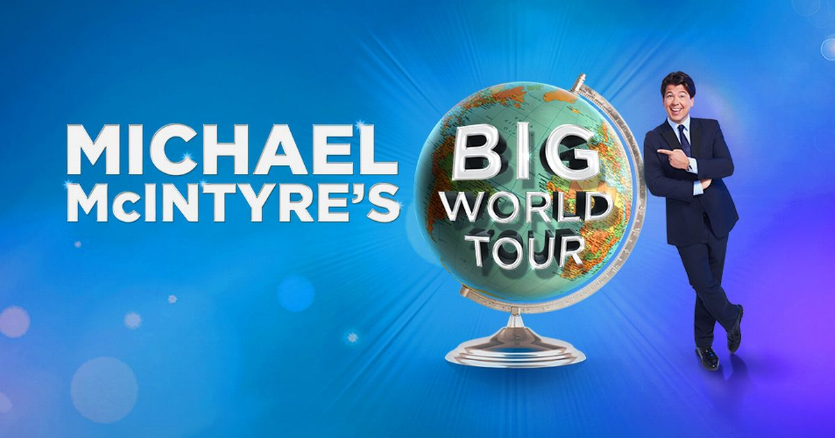 Michael Mcintyre – The Big World Tour – Live in Malta.
