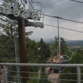 View from the top of the lookout tower