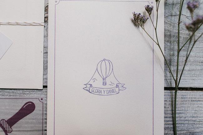invitaciones para bodas handmade