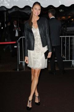 Stacey Keibler in Roberto Cavalli