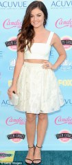 Lucy Hale in Houghton