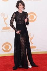 Lena Headey in Alessandra Rich