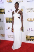 Lupita Nyong'o wore a Calvin Klein Collection gown