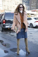 Ece Sukan in Acne and vintage YSL