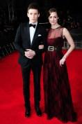 Eddie Redmayne y Hannah Bagshawe en Gucci