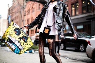in Chanel and Jeremy Scott