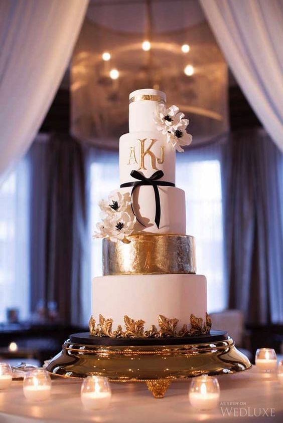 Elegant Wedding Cakes For Black Tie Receptions Photography By Lucida