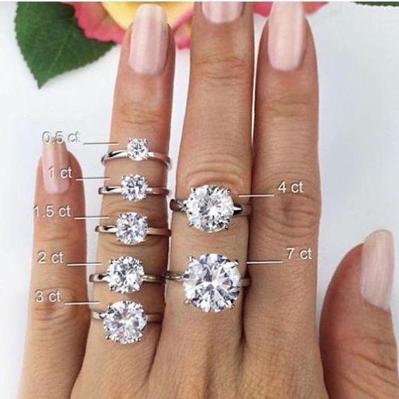 Shaped Carat Diamond 2 Ring Pear Hand