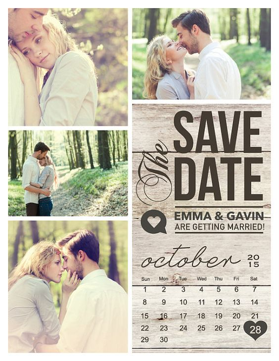 Save Date Marriage