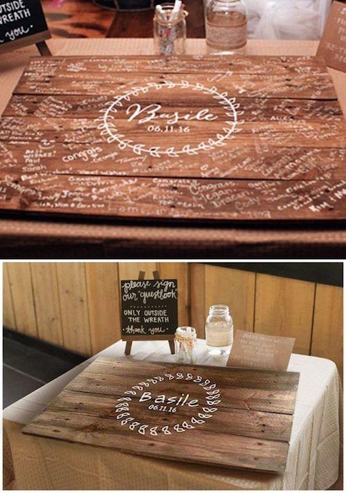 Очаровательны подпись совет вы можете использовать в качестве домашнего декора.