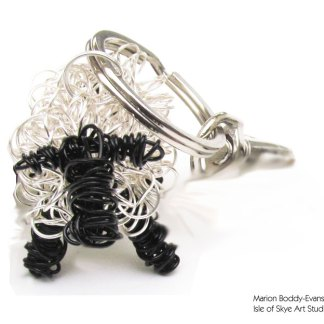 Wirework Sheep Keyring