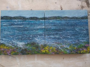 Across the Minch painting