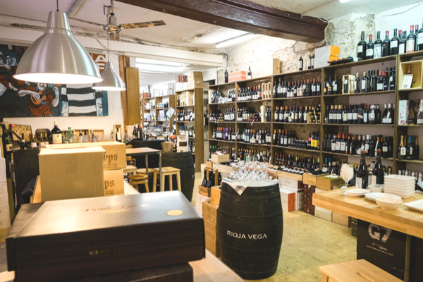 The beautiful Barcelona wine shop and wine specialist store is a full of incredible wines from all over the world!